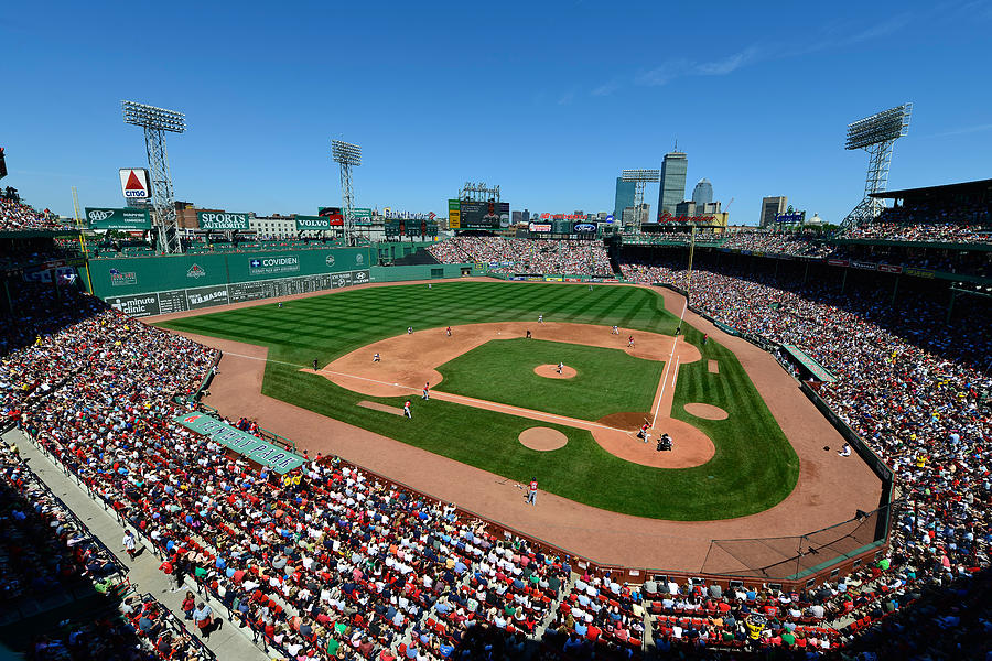 Boston Photograph - Fenway Park - Boston Red Sox by Mark Whitt