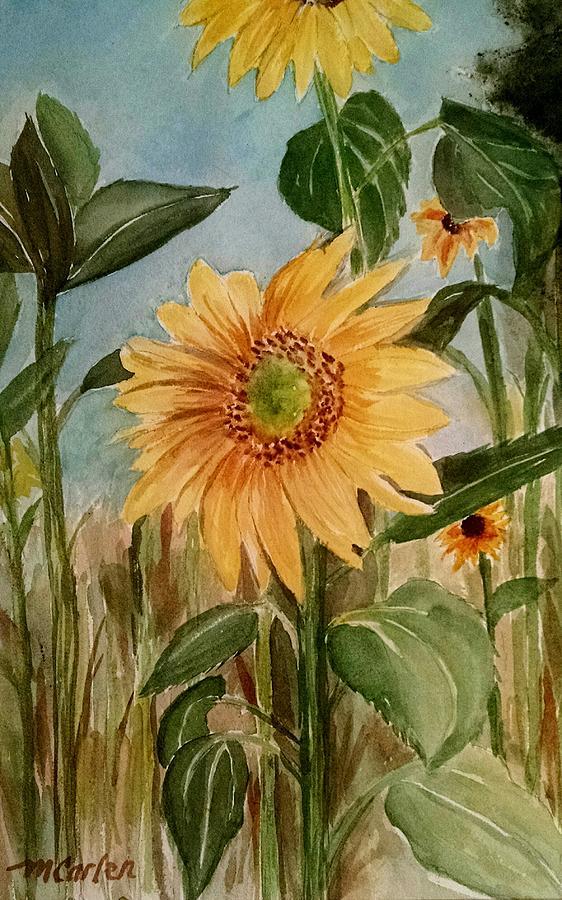 Field of Sunshine by M Carlen