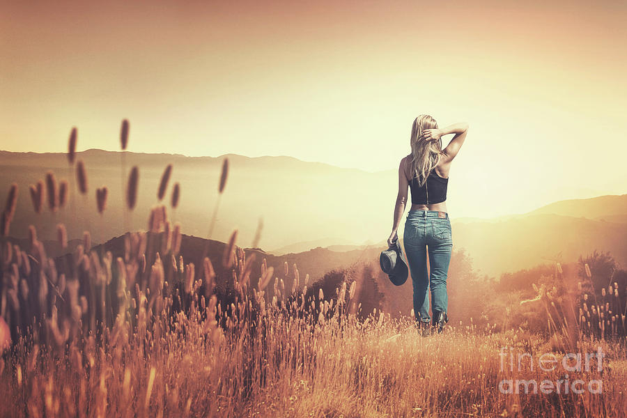 fields of gold photograph by evelina kremsdorf