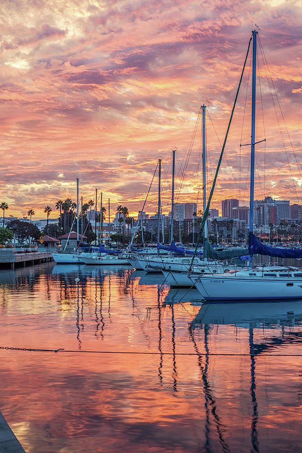 San Diego Photograph - Fiery by Joseph S Giacalone