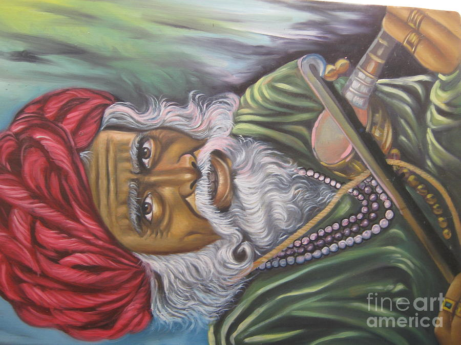 Figrative Scene Painting by Gayatri Maheshwari
