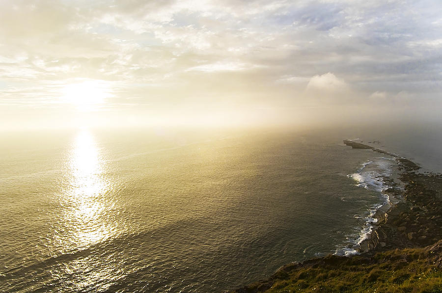 Sunrise Photograph - Filey Brig by Svetlana Sewell