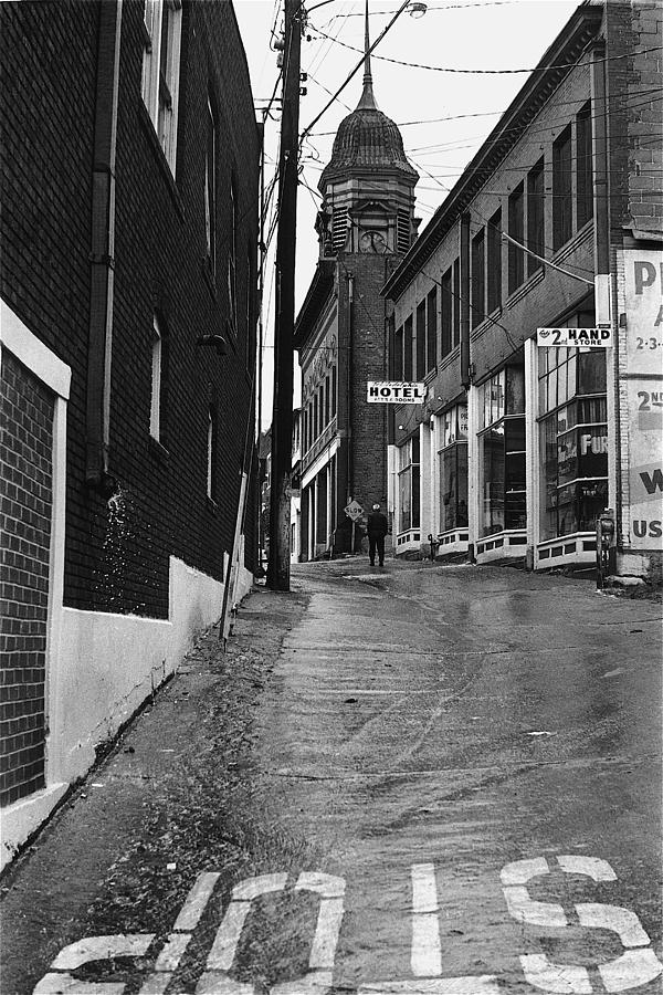 Film Noir Sylvia Sidney Lee Marvin Violent Saturday 1955 1 Brewery Gulch Bisbee Arizona 1967 Photograph by David Lee Guss