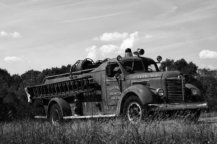 Fire Truck Photograph - Fire Truck 2 by Off The Beaten Path Photography - Andrew Alexander