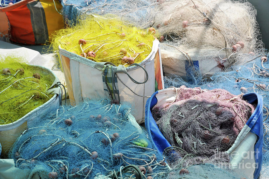 Fishing Photograph - Fishing Industry In Limmasol by Shay Levy