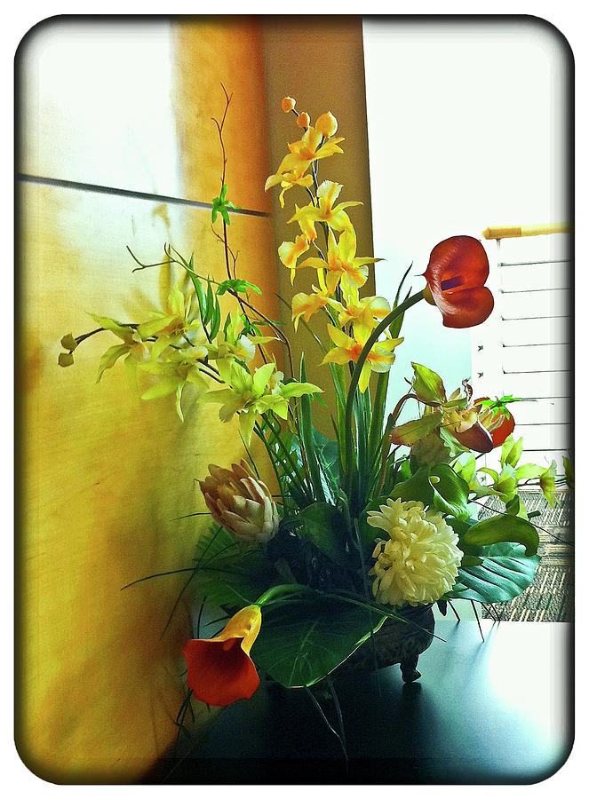 Flowers Photograph - Floral Bouquet by Francesco Roncone