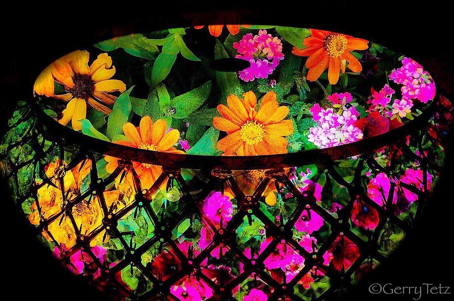 Flower Basket Photograph