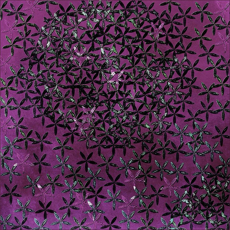 Flowers Digital Art - Flower Shower by Bonnie Bruno