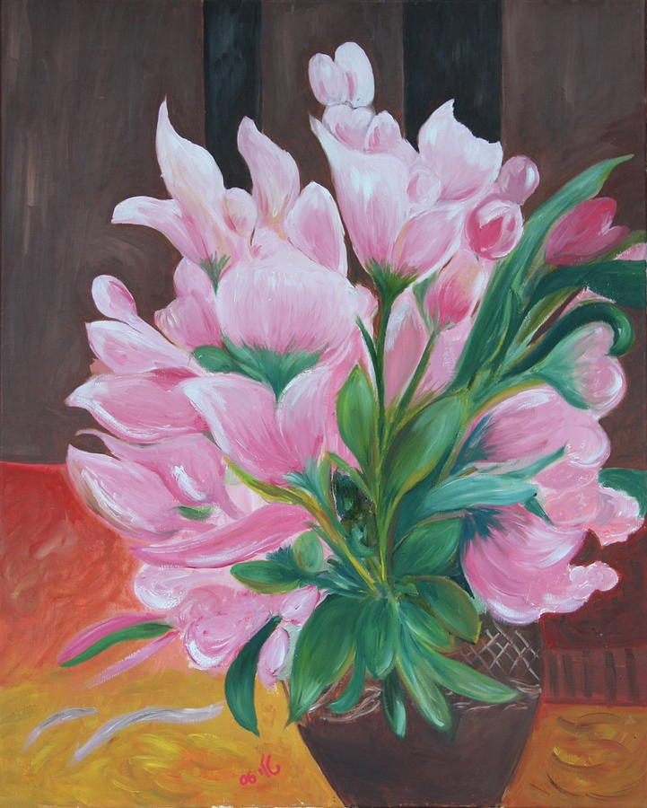 Flowers Painting - Flowers by Taly Bar