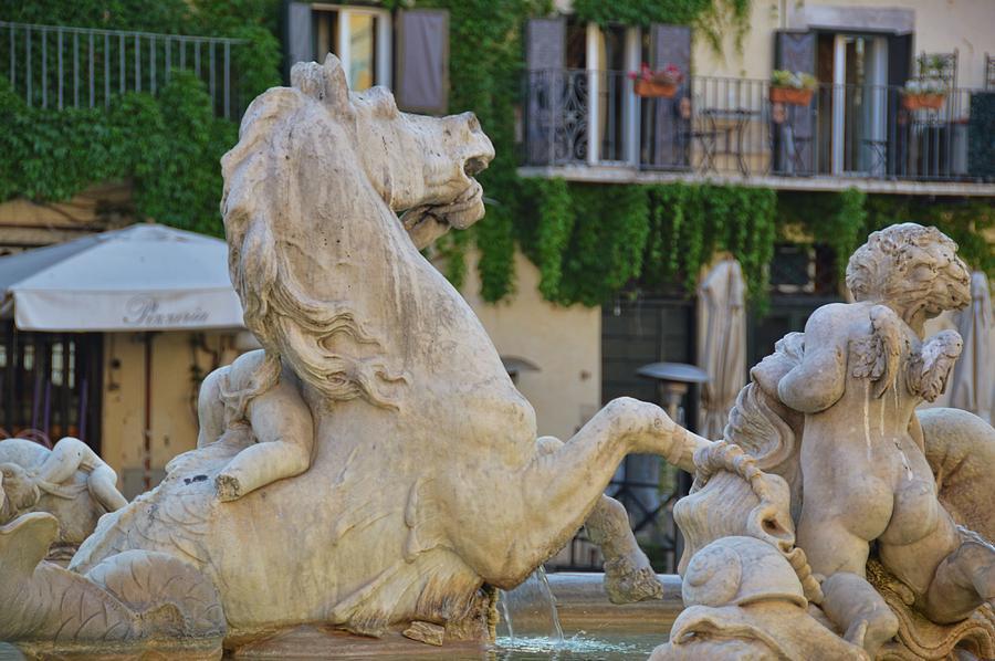 Italy Photograph - Fontana Dei Calderari by JAMART Photography