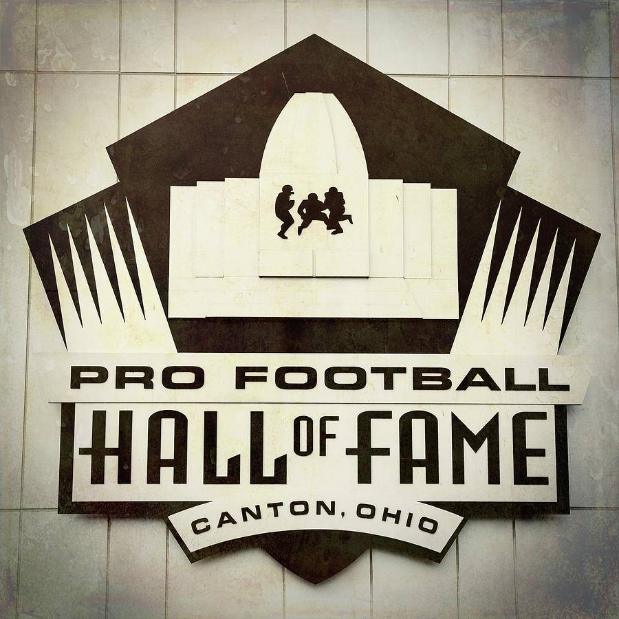 Canton Photograph - Football Hall Of Fame #1 by Stephen Stookey