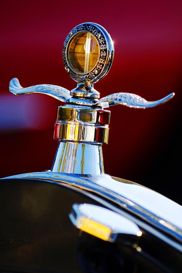 Hood Ornament Photograph - Ford Boyce Motometer  by Jill Reger