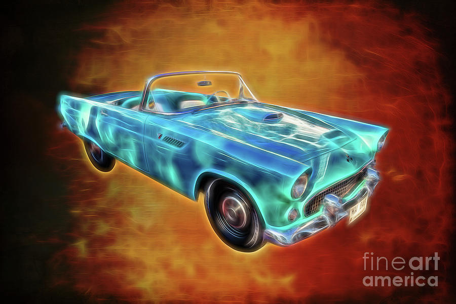 Ford Photograph - Ford Thunderbird by Adrian Evans
