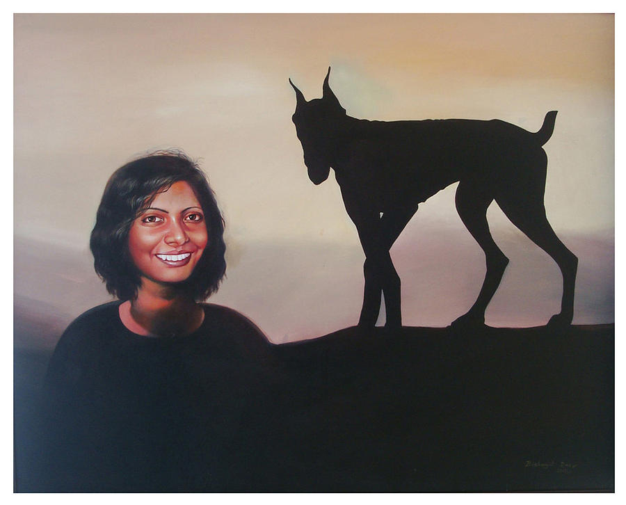 Forgotten Painting - Forgotten by Bishwajit Das