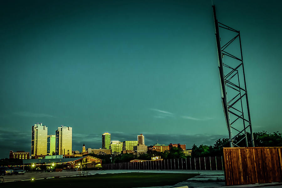 Fortworth Texas Cityscape by Brad Thornton