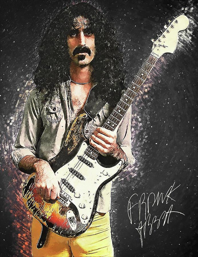 Frank Zappa Digital Art