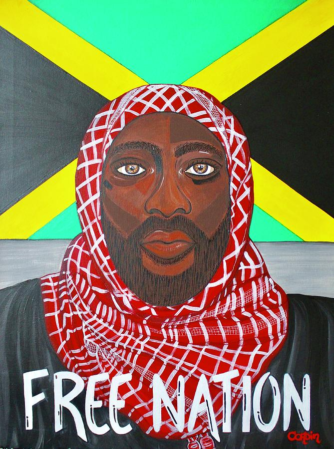 Free Nation 2 Painting by Art By Naturallic