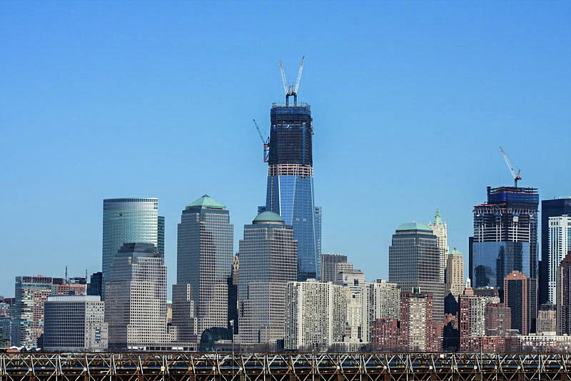 Freedom Tower Under Construction Photograph by William E ...