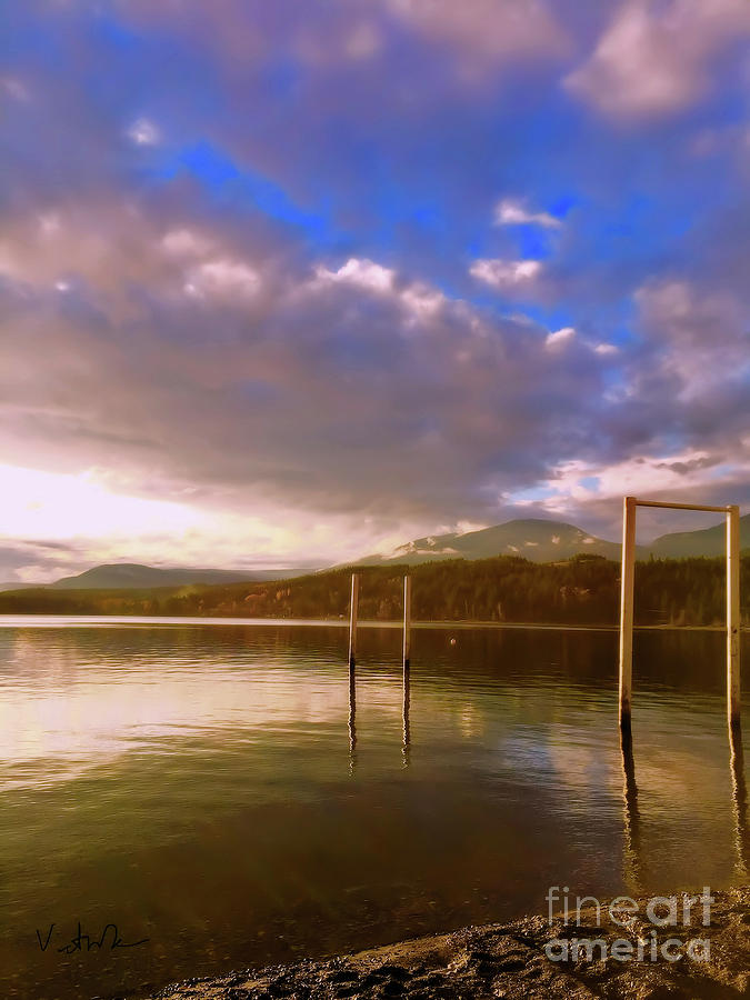 Lake Photograph - Freedom by Victor K