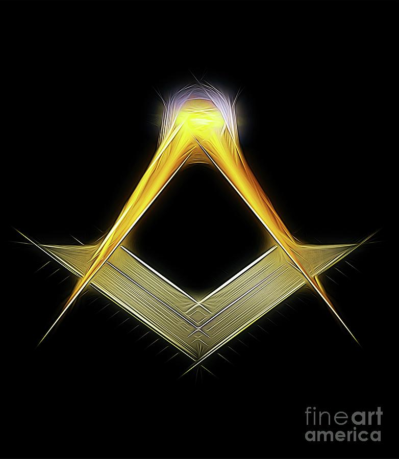 Freemason Symbol By Raphael Terra Digital Art
