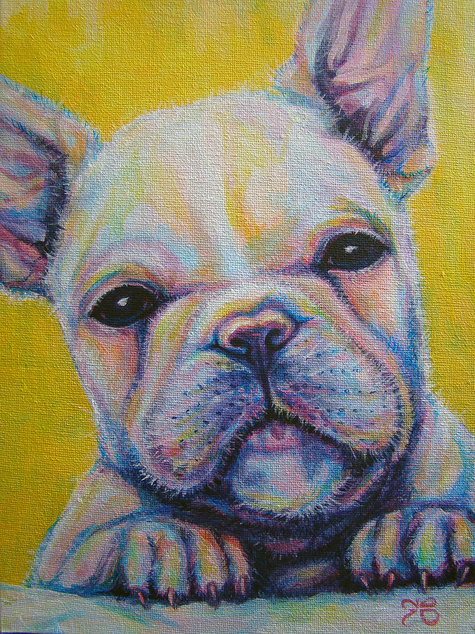 French Bulldog Painting - French Bulldog by Jack No War