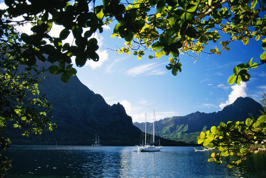 Across Photograph - French Polynesia, Moorea by Dana Edmunds - Printscapes