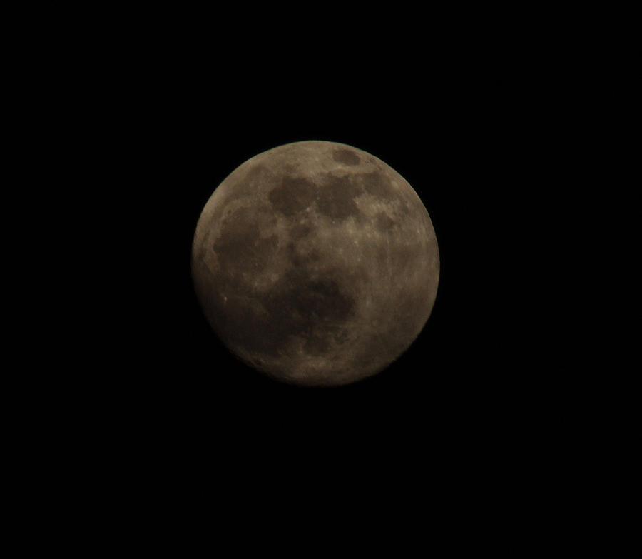 Moon Photograph - Full Moon by Thomas  MacPherson Jr