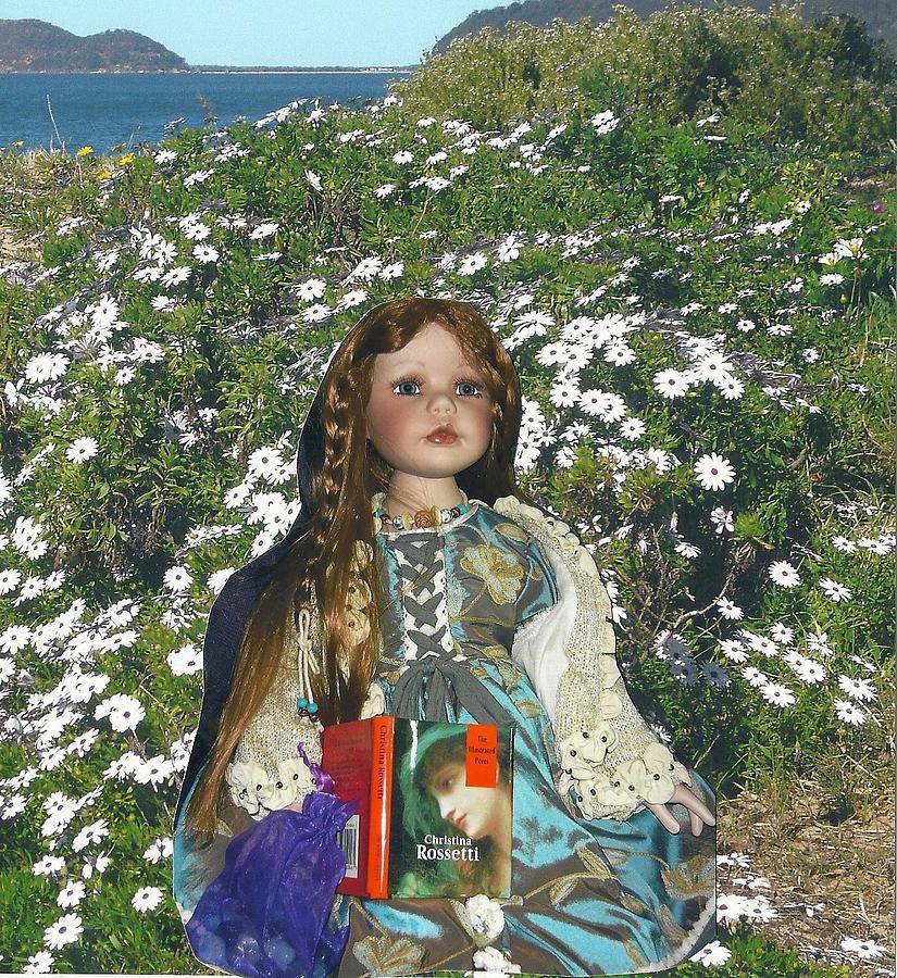 Pre Raphaelites Gabriella Elizabeth Rossetti Pre Raphaelite Doll Daisies Patonga Photograph - Gabriella Elizabeth Rossetti by Adrianne Wood