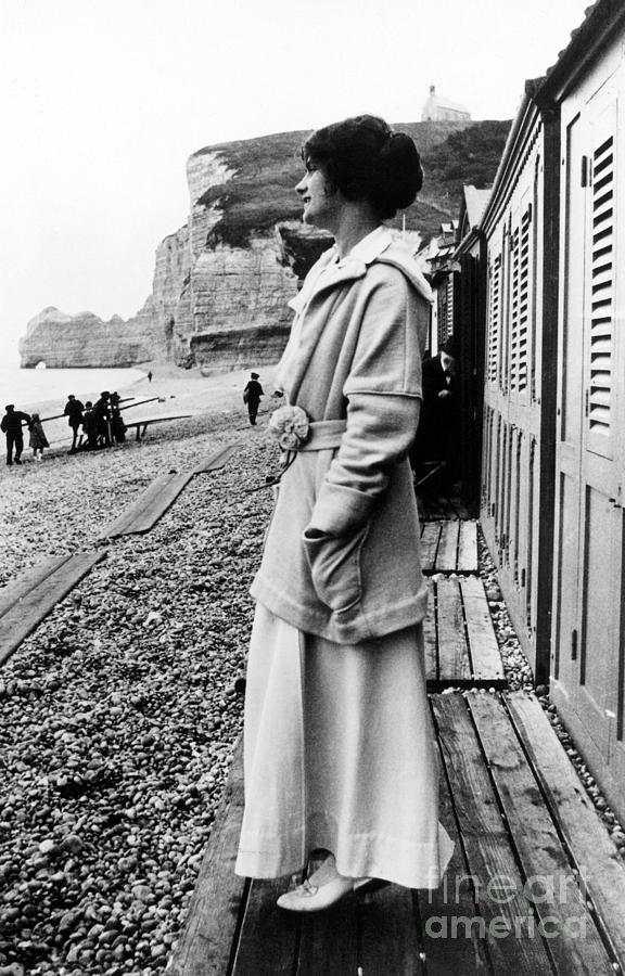 20th Century Photograph - Gabrielle Coco Chanel by Granger