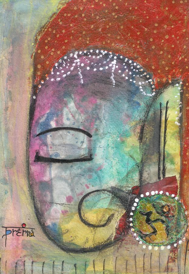 Ganesha Mixed Media - Ganesha by Prerna Poojara