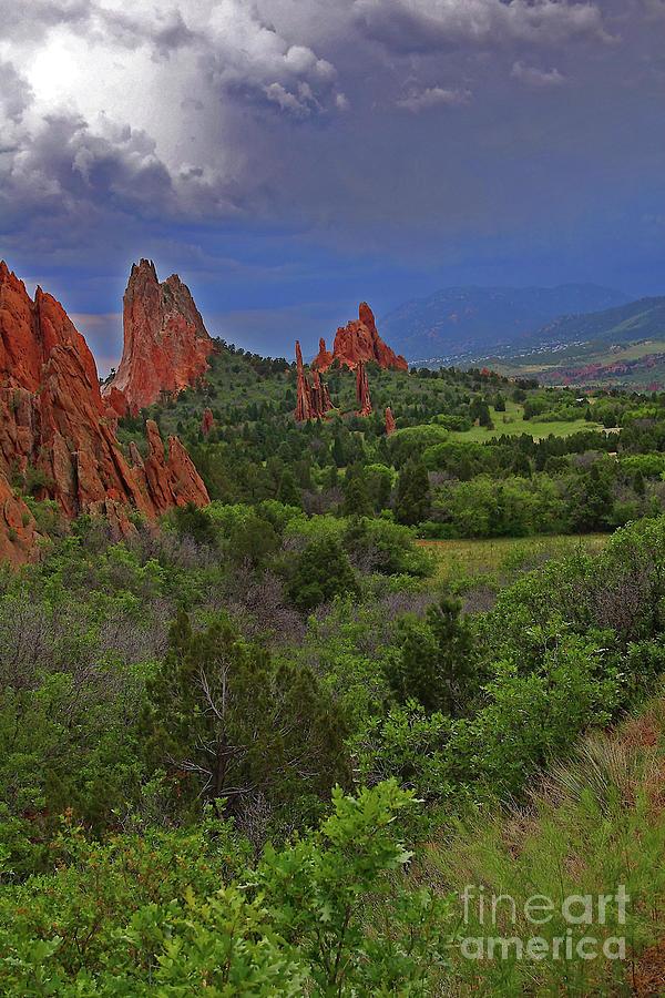 Colorado Photograph - Garden Of The Gods by Rich Walter