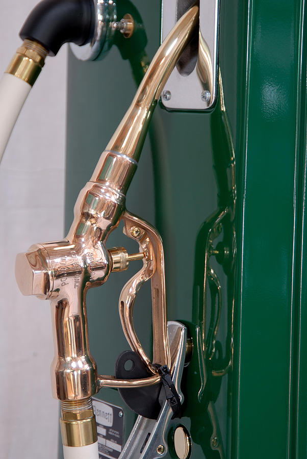 Sinclair Photograph - Gas Pump Handle by David Campione