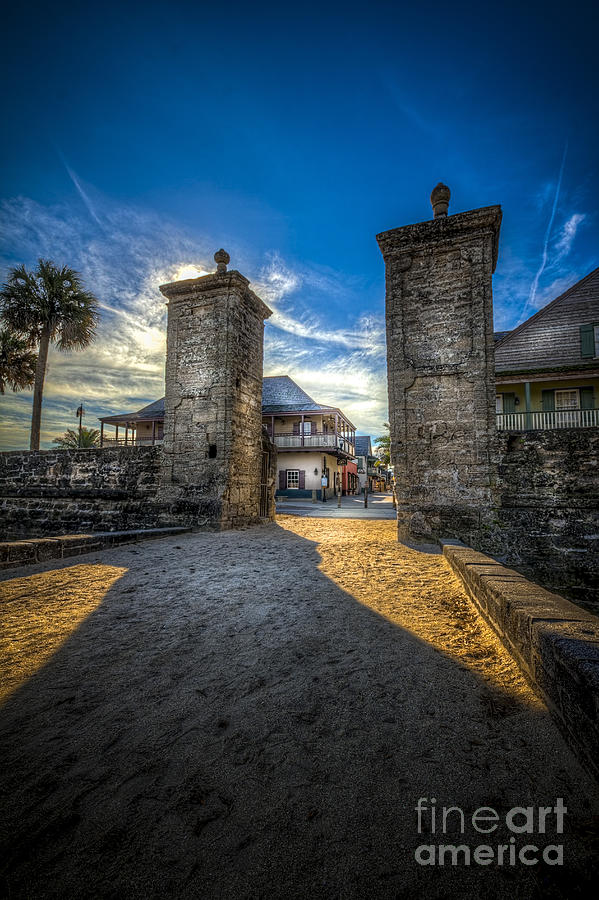 Fort Photograph - Gate To The City by Marvin Spates