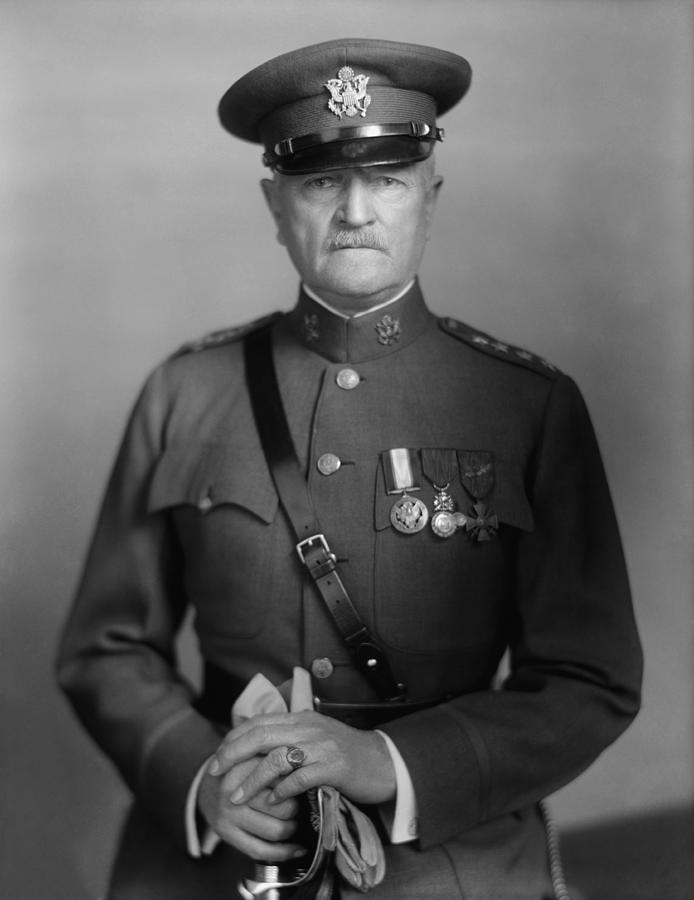 General Pershing Photograph - General John Pershing by War Is Hell Store