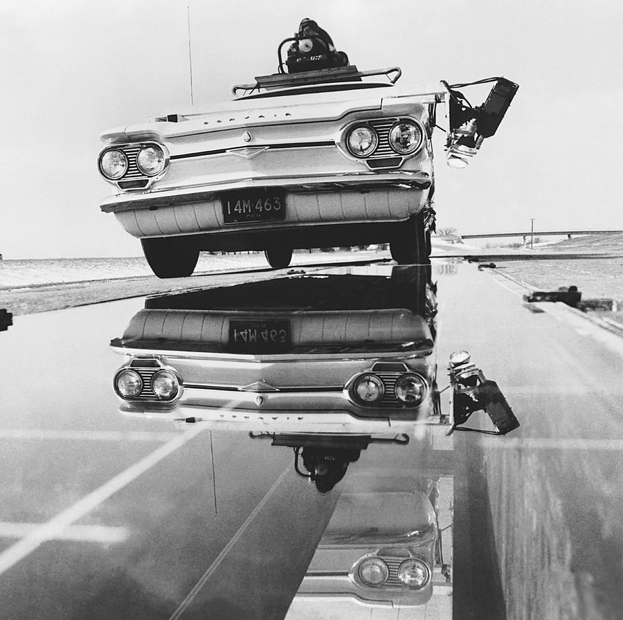1960s Photograph - General Motors Proving Ground by Underwood Archives