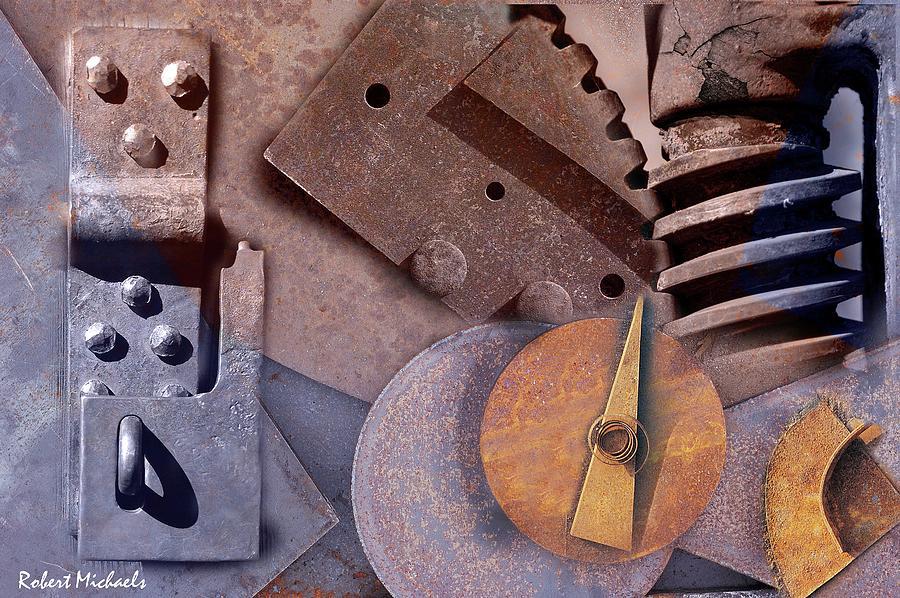 Geometric Metal by Robert Michaels