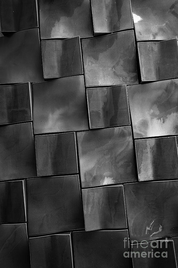 Design Photograph - Geometrix Abstract Art by Edward Fielding