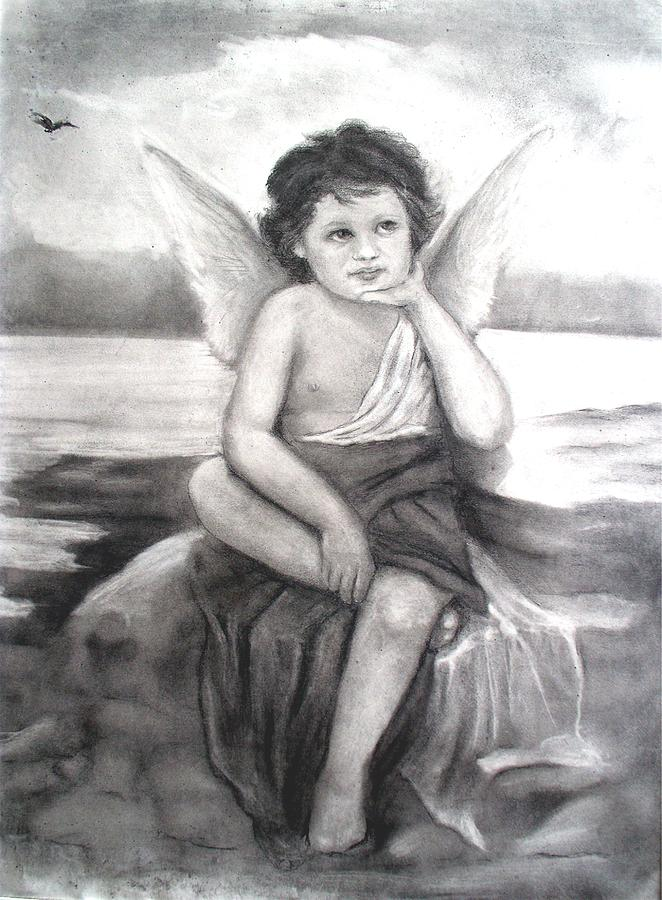 Angels Drawing - Getting Re-inspired by Sue Tesin