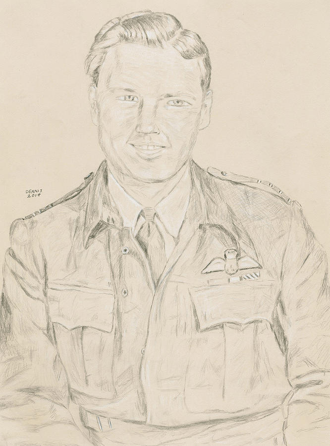 Gibson Drawing - Gibson by Dennis Larson