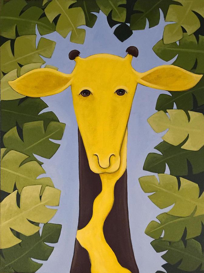 Giraffe Nursery Art Painting