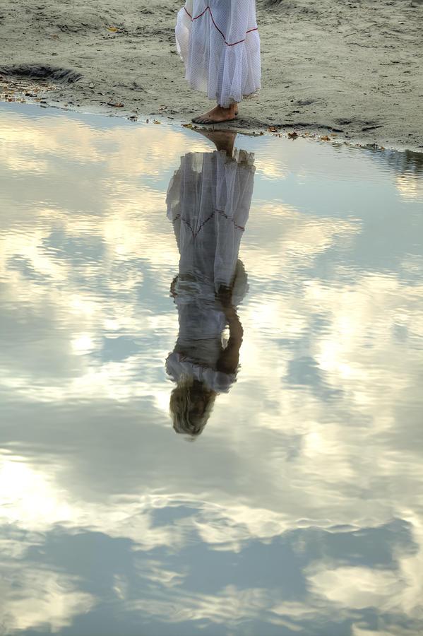 Woman Photograph - Girl And The Sky by Joana Kruse