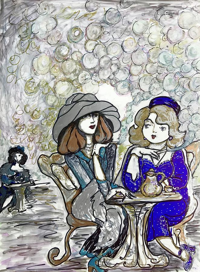 Girlfriends by Rae Chichilnitsky