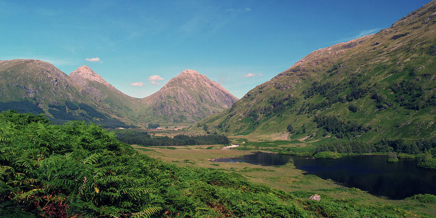 Valley Photograph - Glen Etive by Steve Watson