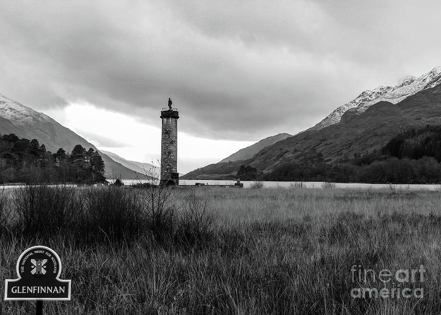 Glenfinnan And Loch Shiel Photograph