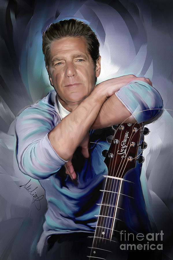 Glenn Frey Mixed Media - Glenn Frey by Melanie D