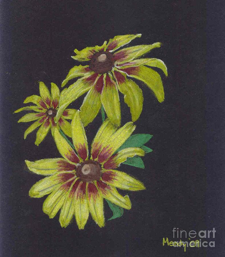 Daisy Pastel - Gloriosa Daisy by Mendy Pedersen