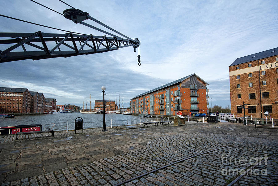 Gloucester Docks Photograph - Gloucester Docks by Smart Aviation