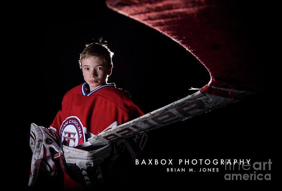 Goalie Photograph by Brian Jones