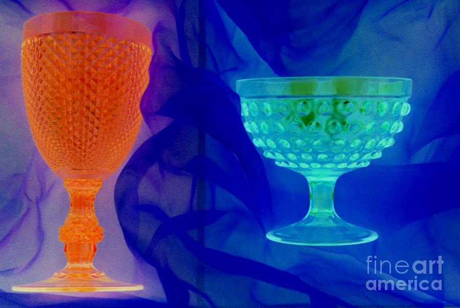 Neon Colors Photograph - Goblet Series by Tamarra Tamarra