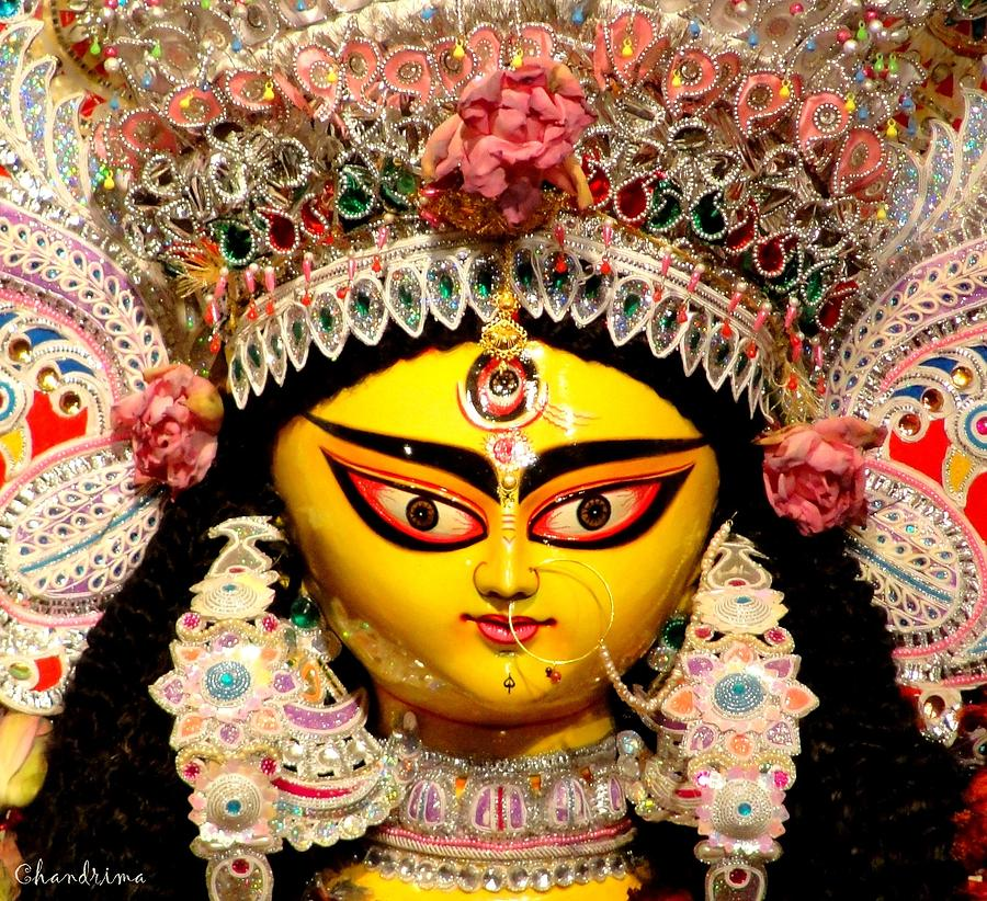 Durga Photograph - Goddess Durga by Chandrima Dhar